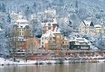 европпа зимой