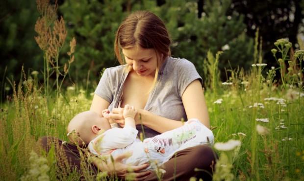 кормящая мама