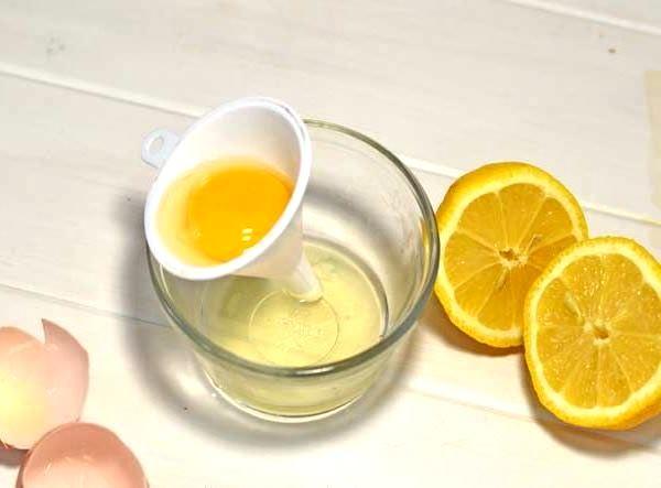 лимон и яйца