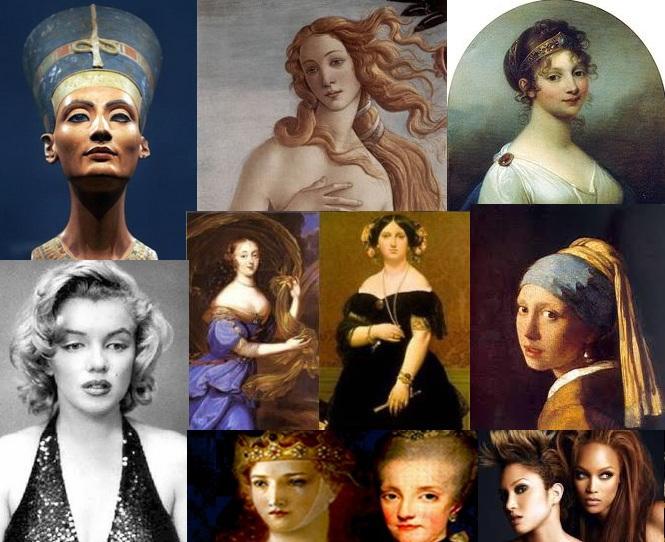 картинки фотошоп прически разных эпох
