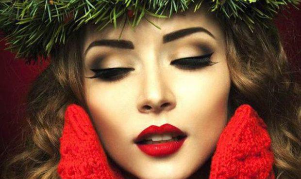 макияж зимы