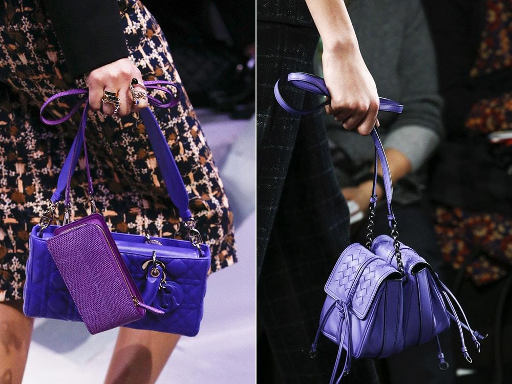 много модных сумок
